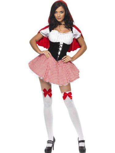 SMIFFYS Costume Fever da Cappuccetto Rosso, abito e mantello con cappuccio