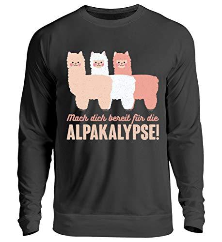 Chorchester Alpaka Fans - Bereit für die Alpakalypse - Unisex Pullover