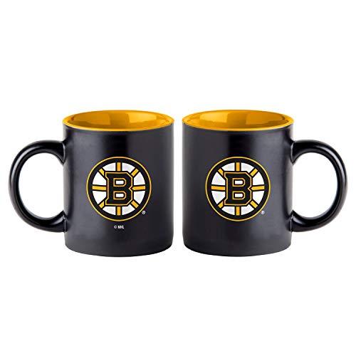 Boelter Boston Bruins Black Matte Jumbo NHL Becher (415 ml)