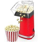 LVYE1 MRMF Popper Elettrico per Popcorn, Macchina per Popcorn, Popcorn in 3 Minuti, No Grassi, Circolazione di Aria Calda, Potenza 1200 W