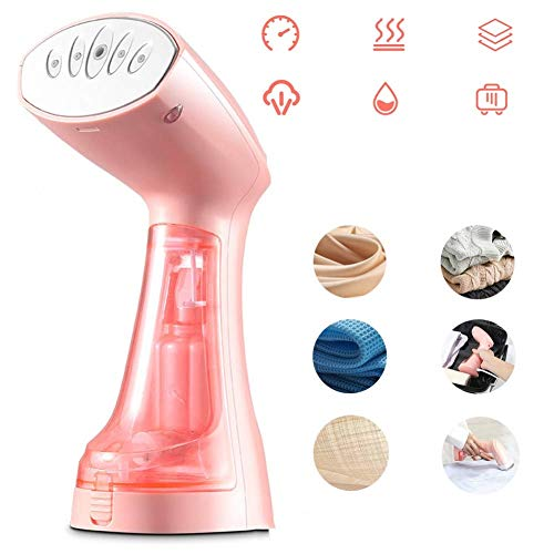 QIYUE Handheld strijken machine, Mini strijken machine, Household Travel Strijkijzer, rimpel verwijderen, Sterilisatie (Pink)