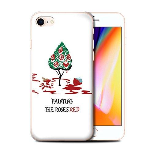 Stuff4 Telefoonhoesje/Cover/Skin/IP-CC/Fantasy Wonderland Kunstcollectie Apple iPhone SE 2020 Koningin van de Harten / Schilderij