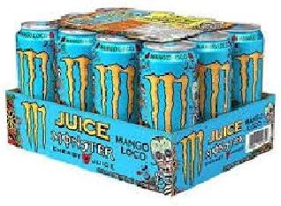 Monster Mango Loco - Latas de 500 ml, 12 unidades