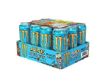 Monster Mango Loco 12 latas de 500 ml
