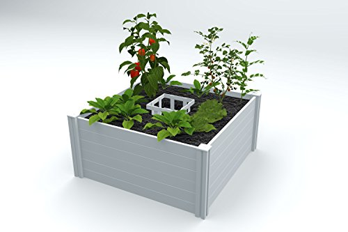 Vita VT17101 4x4 Composting Raised Garden Bed