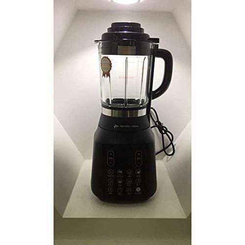 WZB Big Mouth Juice Extractor Elektrische Entsafter, Heizen und Kochen, Leiser Motor & Kaltpresse Entsafter mit Pinsel, Saftrezepte für Gemüse und Obst, Schwarz