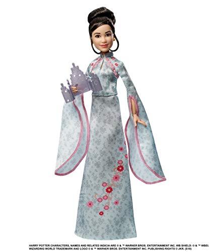 Mattel GFG16 - Harry Potter und der Feuerkelch Weihnachtsball Cho Chang Puppe gelenkig, Spielzeug ab 6 Jahren
