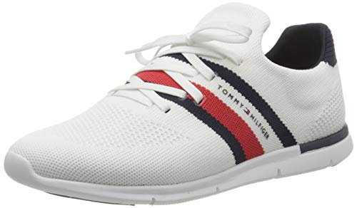 Tommy Hilfiger Womens Skye 24D Sneaker, White, 40 EU