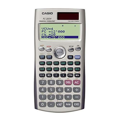 Casio FC-200V Calculatrice