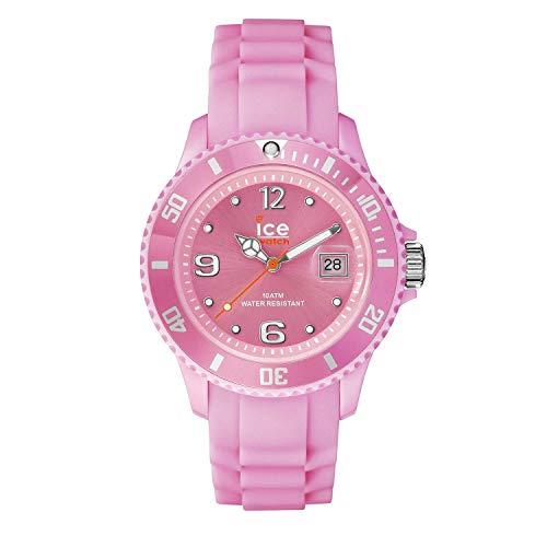 Ice-Watch - ICE forever Pink - Rosa Damenuhr mit Silikonarmband - 000140 (Medium)