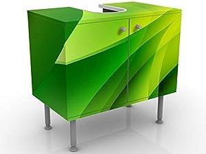 Apalis 53509 Waschbeckenunterschrank Green Composition, 60 x 55 x 35 cm