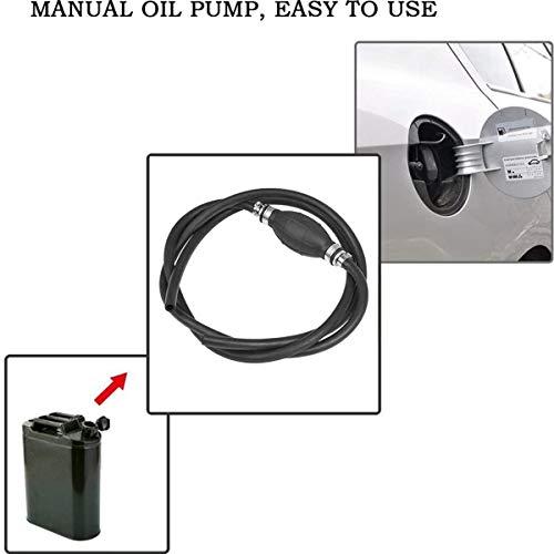 BBINHAN Tragbare Siphonpumpe Kaufen Sie Eine Und Erhalten Sie Eine Gratis, Hand Kraftstoff Umfüllpumpe Rückschlagventil Für Boot Auto Diesel Benzin Öl Wasser
