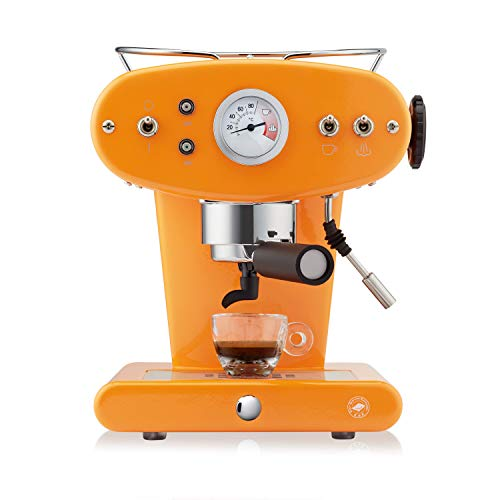 illy Kaffee, E.S.E. Pads Kaffeemaschine X1 Trio - Orange