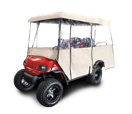 """RED DOT Universal Golf Cart Enclosure for Carts with 88"""" Top"""