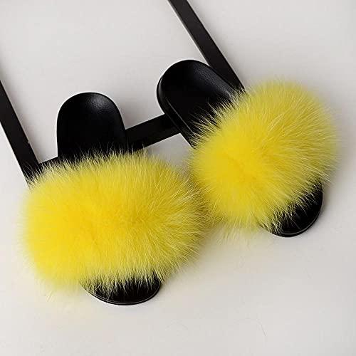 Perferct Damen Schuhe,Sommer Anti-Fox-Dame, Haar-Flip 13, Tragen eines Wortes, gefangene rote Libelle PVC Sohle Home Wear Party Geschenk-40-41 (25,5 cm)_C.