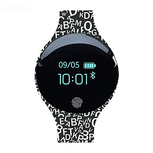 HYYQG Digitale Sportuhren, großes Gesicht Touchscreen Elektronische Fitness-Tracker Silikonband-Armbanduhr mit Anruferinnerung Schrittzähler Kalorienschlaf-Überwachungsalarm für Männer und Frauen