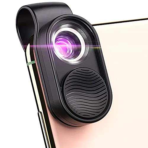 Mini Phone Microscope for Smartphone | Magnifying Camera Lens with LED...