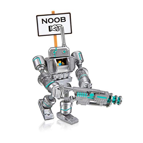 Roblox Imagination Collection - Noob Attack - Mech Mobility Figure Pack [Includes Exclusive Virtual Item]