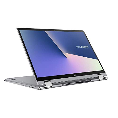 ASUS ZenBook Flip 15 UX562FA (90NB0LK2-M00900) 39,6 cm (15,6 Zoll, FHD, WV, Touch) Convertible Notebook (Intel Core i5-8265U, 8GB RAM, 256GB SSD, Intel UHD-Grafik 620, Windows 10) Silver