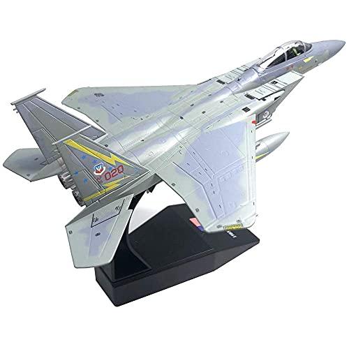 Lhl 1/100 Scala Die-Cast Aereo Modello American F-15A American Eagle Supersonic Fighter Lega Aerei Modello, Collezione O Regalo
