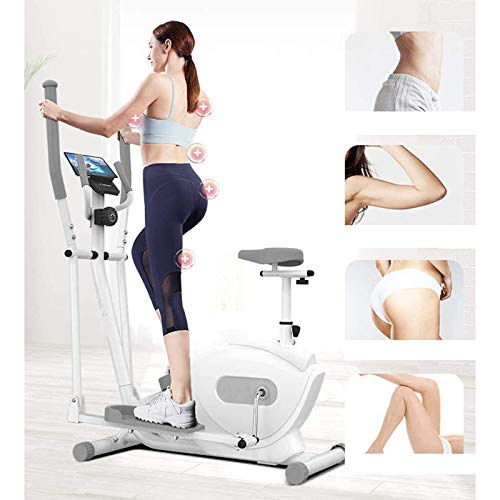 QQYYY 3-In-1 Magnetron Cross Trainer Gym Home Portable Small