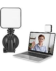 Guangmaoxin Luz De Video LED,Luz de Video Led Portable para Camara de Video,Luz Led de Relleno con Temperatura del Color 2500K-6500K pare Videoconferencia,Luz de Relleno de Selfie para Foto con Tipo-C