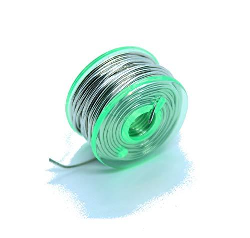 Hilo de estaño para soldar bobina 3 m 0,6 mm sin plomo...