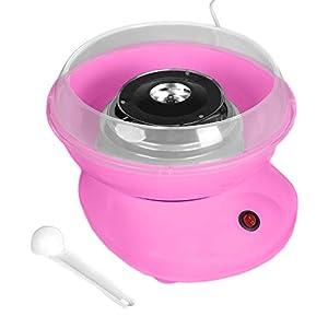 Máquina de algodón de azúcar para el hogar, dulces o máquinas Candy Floss Machine/Cotton Candy Machine Rosa