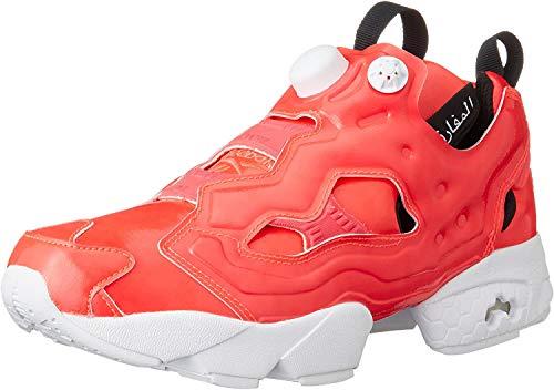 Reebok , Herren Basketballschuhe, Neon Cherry/White/Black - Größe: 41 EU