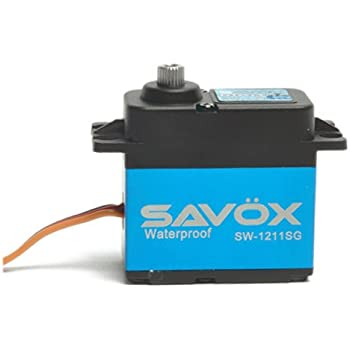 Savox SW1210SG Waterproof Coreless Digital Servo .15//277.7 Aluminum Case