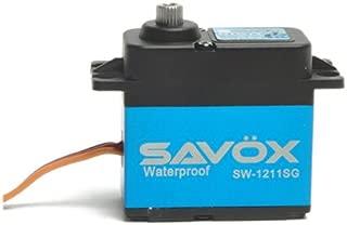 Savöx SW1211SG Waterproof Coreless Digital Servo .10/208.3 with Aluminum Mid Case