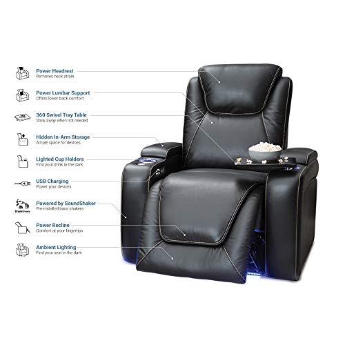 Seatcraft Equinox Leather Power Recliner