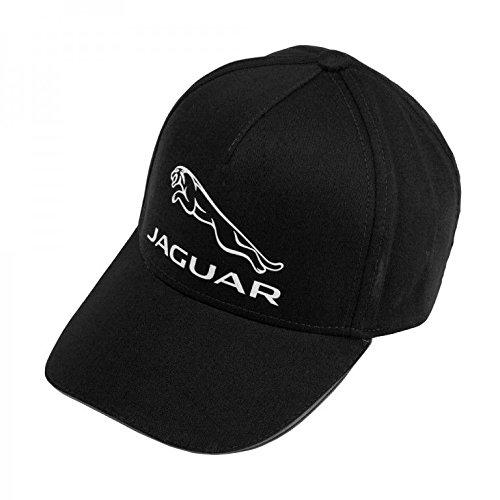 Jaguar Official Merchandise Large Leaper Cap Black