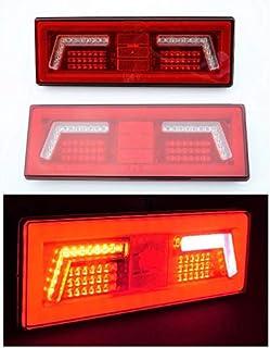 AUTOUTLET 4PZ Luce Laterale da Camion Luci di Indicatore luce di sicurezza Indicatore Anteriore LED Lampada di Posizione per Camion Furgone Rimorchi Auto 12V 24V