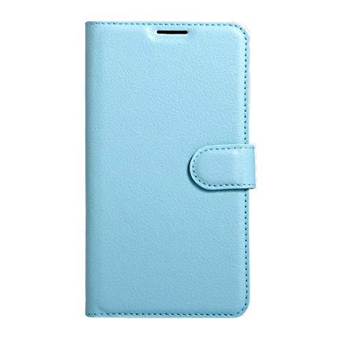 RONGCHAO Tasche für Mobiltelefon Für Wiko K Kool und Jerry Litchi Texture Horizontal Flip Leder Tasche mit Magnetschnalle und Kartenhalter und Kartenhalter (Schwarz) Shell Cover (Farbe : Blue)