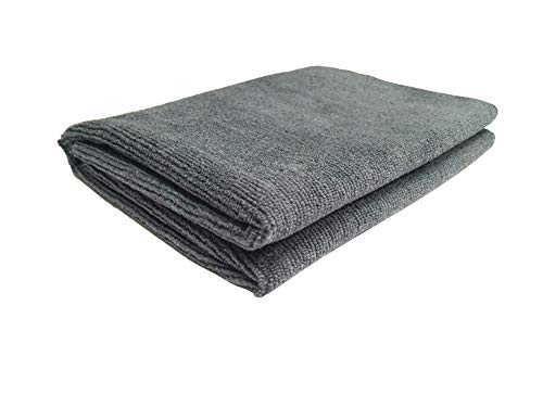 Softspun100% Microfiber Baby Bath & Hair Care Towel - Extra Soft Face Towels Washcloth for Newborn Babies, Toddler Shower Gift, Unisex - 70 x 140 cm, Grey