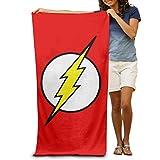 RIPEPIN The Flash Beach Towels, Microfiber Bath Towel, Super Soft Absorbent Towel Blanket for Adults Women Men