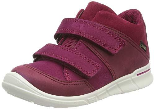 ECCO Mädchen First Hohe Sneaker, Rot (Morillo/Red Plum/Morillo 51289), 22 EU