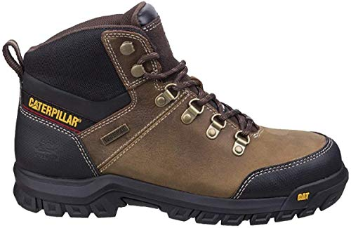 Caterpillar Herren CAT Framework S3 Safety Leder-Stiefel (43 EU) (Braun)