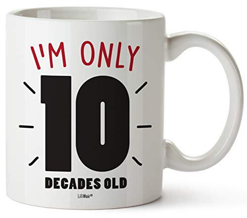 100th Birthday Gifts For Women Hundred Years Old Men Gift Mugs Happy Funny 100 Mens Womens Womans Wifes Female Man Best Friend 1921 Male Mug Unique Ideas 20 Woman Wife Gag Dad Cute Girls Guys Good