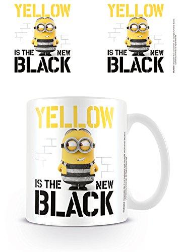 Pyramid International Despicable Me 3 (geel is de nieuwe zwarte) officiële Boxed keramische koffie/thee mok, papier, multi-kleur, 11 x 11 x 1,3 cm