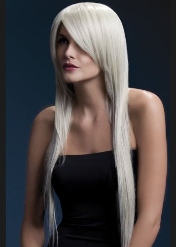 Mesdames fièvre longue Blonde Amber perruque