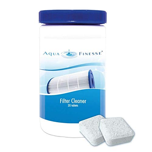 AquaFinesse Filter Cleaner, Reinigungstabletten für Whirlpool-Filter