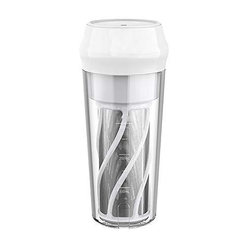 BAIYI Juicer Kleine Tragbare Saftpresse Tasse Haushalt Elektrische Saftpresse Automatische Fruchtsaftmaschine Hochleistungs-Automatische Saftpresse Tasse,Grau