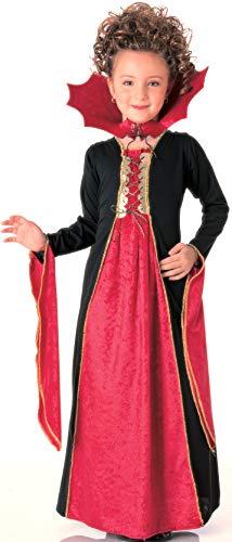 Halloween - Disfraz de Vampiresa gótica para niña, Talla L infantil 8-10 años (Rubie's 881029-L)