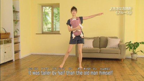 日本コロムビア『ベビーダンス抱っこで楽しく産後エクササイズどうよう編/英語ソング編』