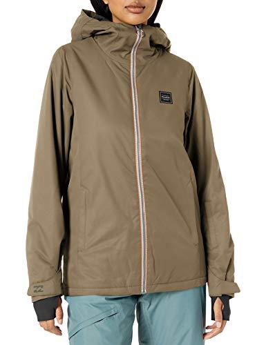 BILLABONG Damen Sula Snowboard Jacket Isolierte Jacke, olivgrün, Large