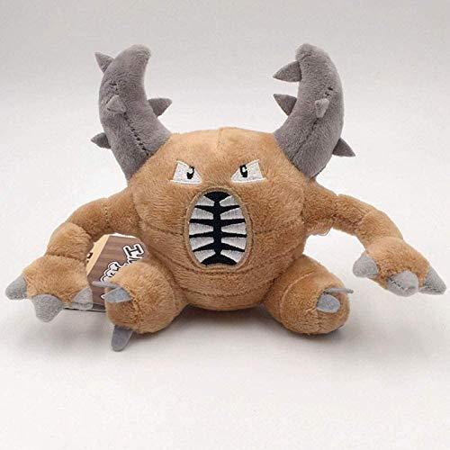 Ozsjrq Muñeco de Peluche para Mascotas, muñeco de Peluche, Almohada Suave, Regalo de cumpleaños para compañero de Juegos Infantil, 13 cm