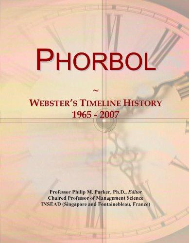Phorbol: Webster's Timeline History, 1965 - 2007