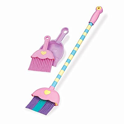 Play Circle Sweeping Set Cleaning Toy for Kids Pretend Play